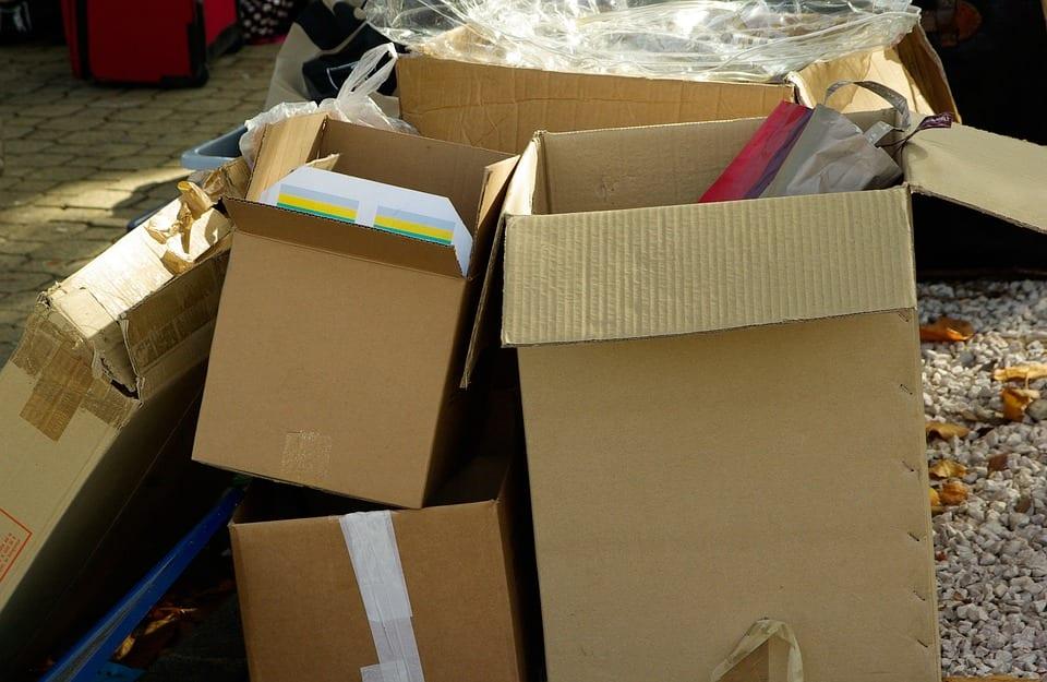 moving company ottawa, boxes