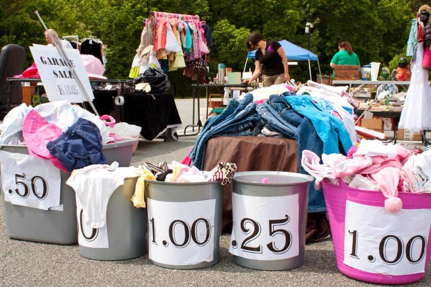 Garage Sale - Get Organized!